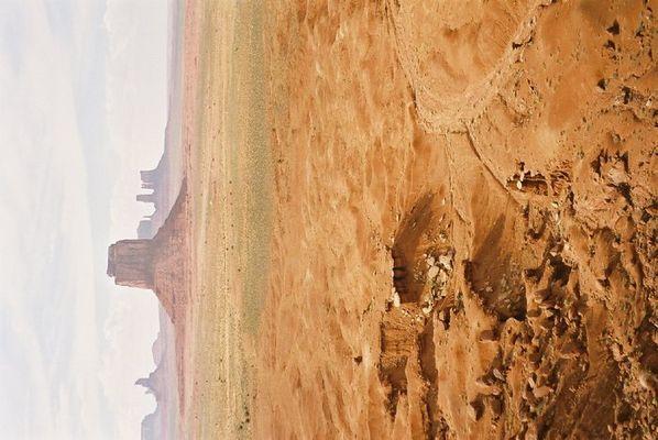 Monument Vally, nach dem Sandsturm