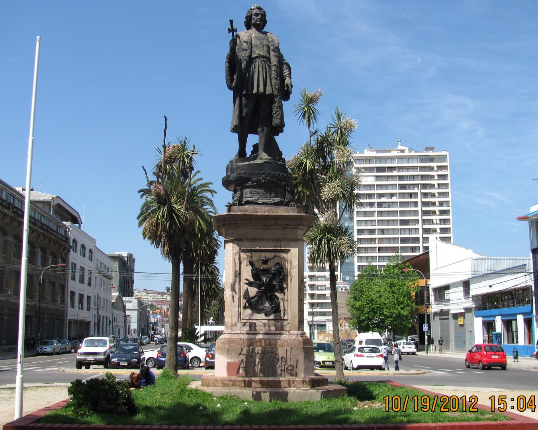 Monumento a Cristobal Colón - Valparaíso