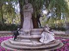 Monumento a Gustabo Adolfo Bécquer, Parque Mª Luisa, Sevilla