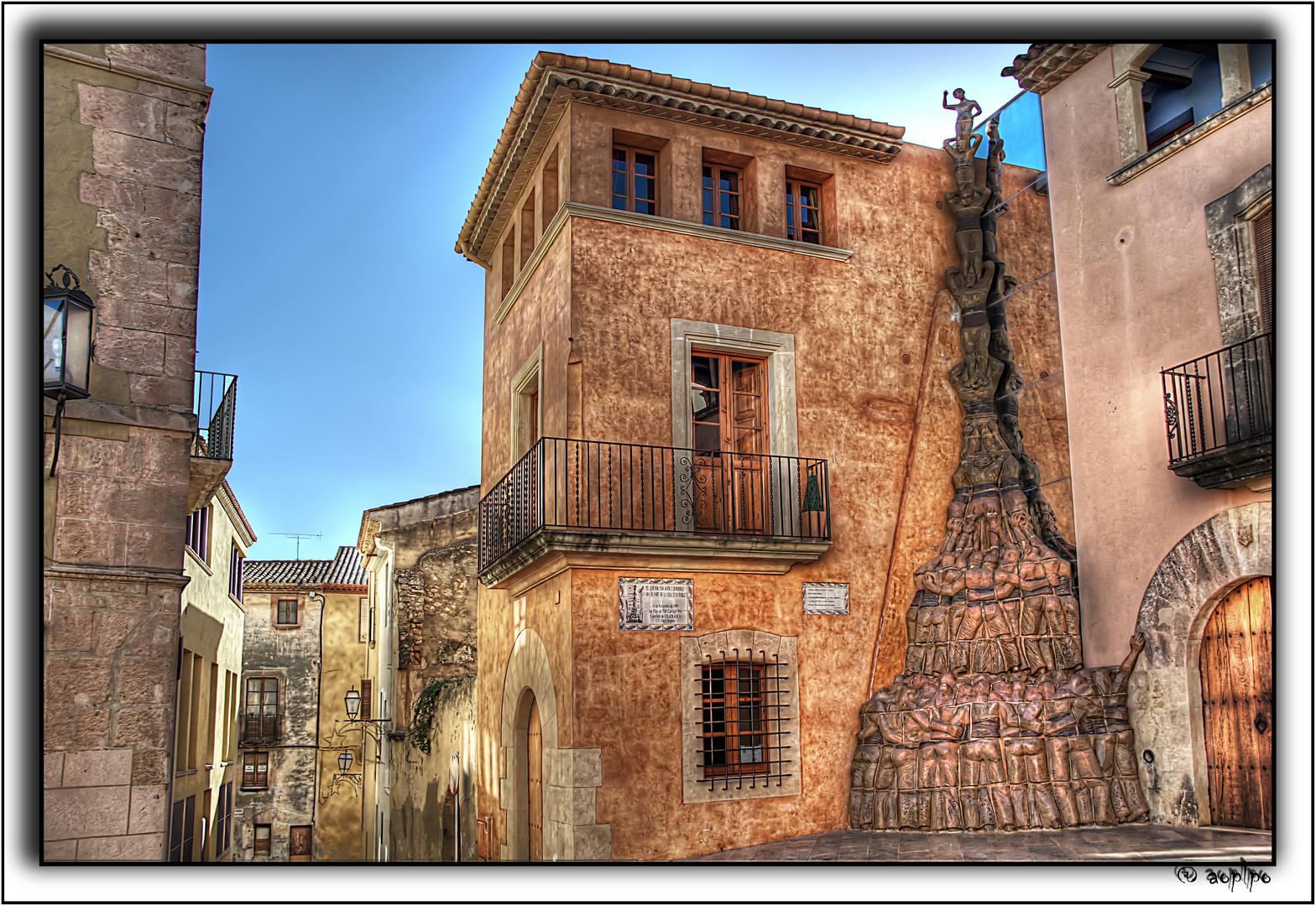 Monumento a los Castellers de Vilafranca(En Altafulla - Tarragona)