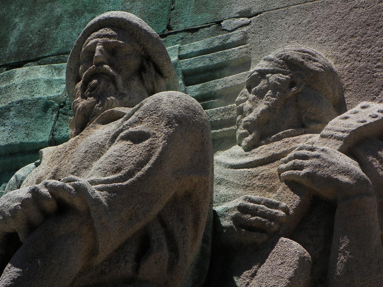 Monumento al Gaucho.