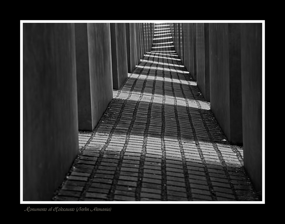 Monumento al Holocausto (Berlin Alemania)