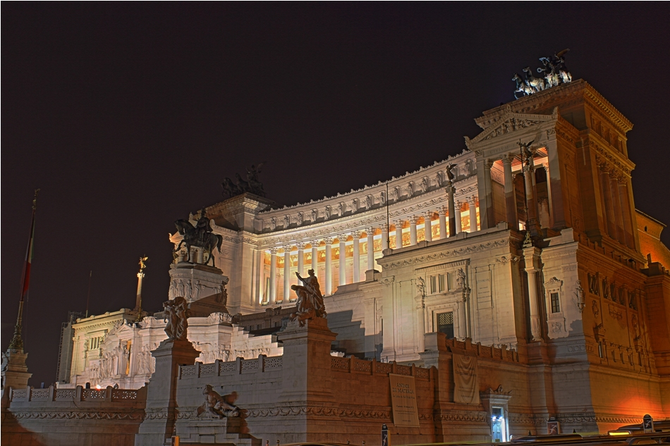 Monumento Nationale an der Piaza Venezia