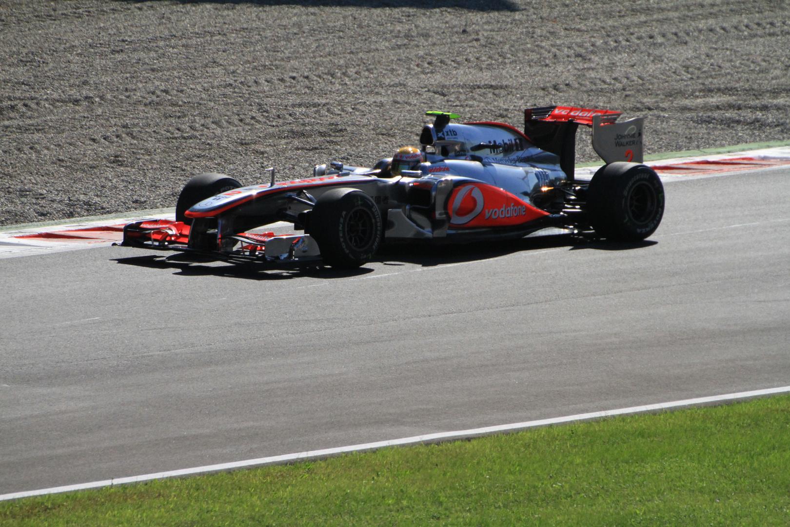 Monza 2010 Formel 1 - Da war Hamilton noch dabei