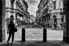 Monza, arcata dell'Arengario