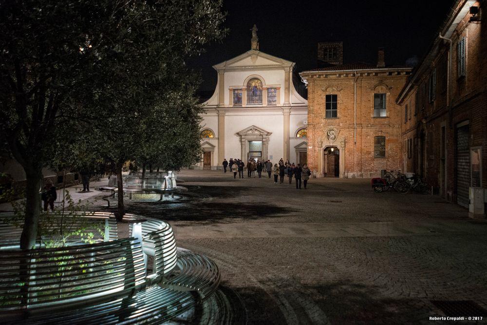 Monza, piazza del Carrobiolo