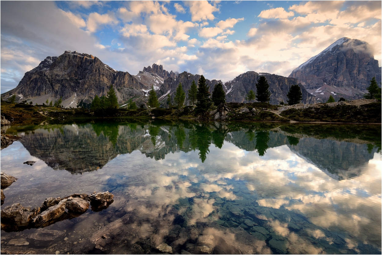 Mood at the small lake