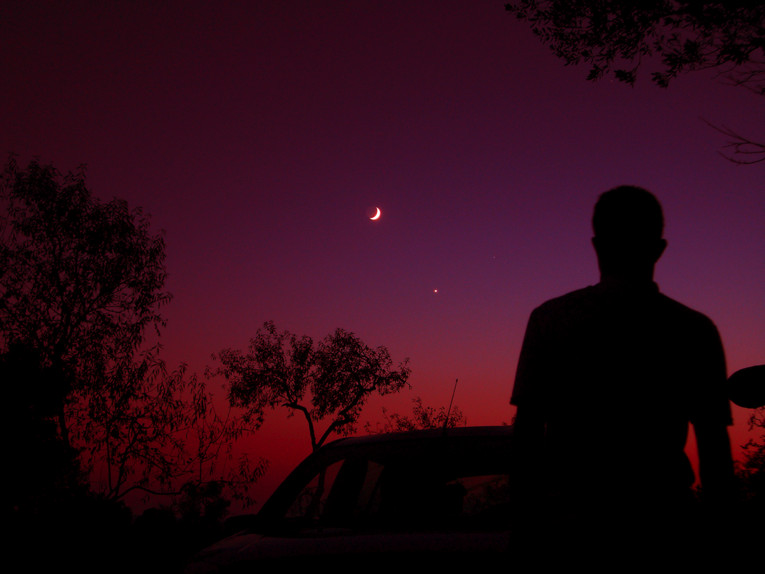 Moon after Sun