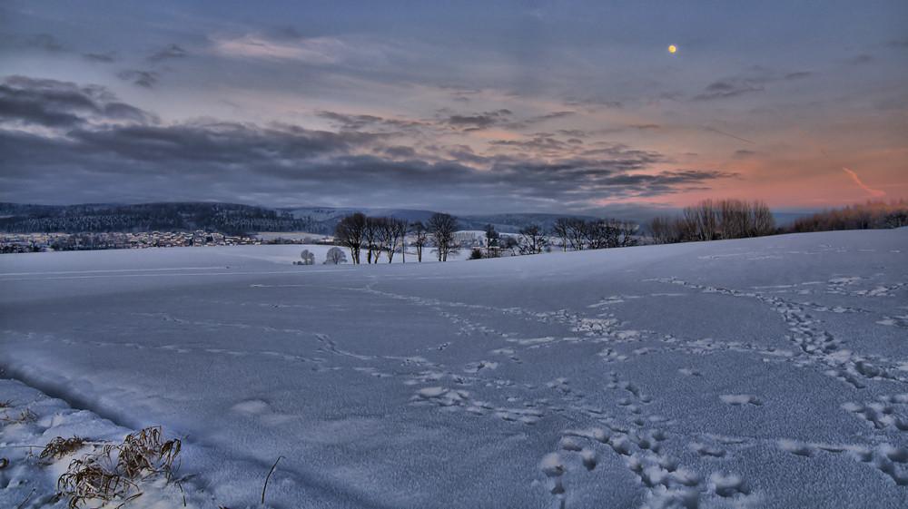 Moon and sun...........
