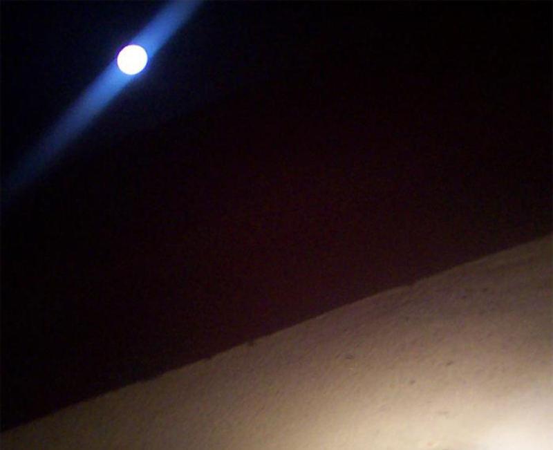 Moon & eaves