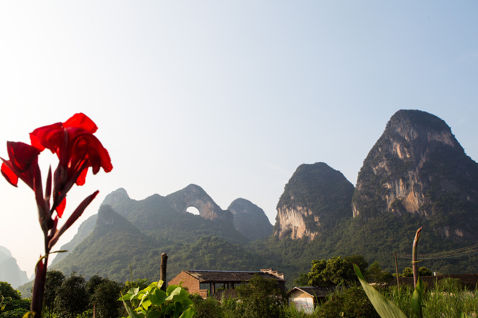 moon hill / Yangshuo region