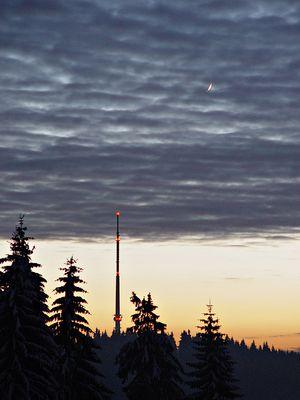 Moon over Blessberg...
