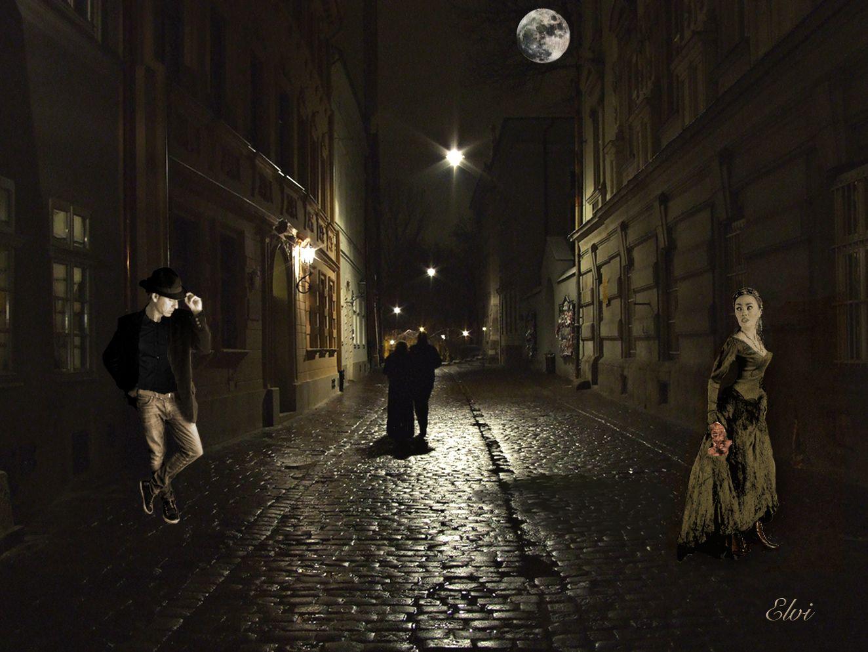 Moon over Bourbon street