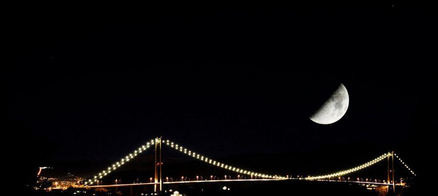 Moon over brigde...