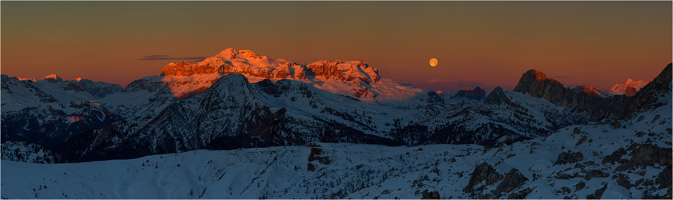 *** Moon over Mountains ***