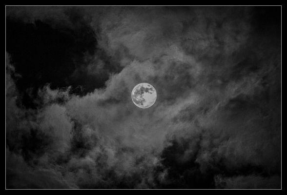 Moon over Schleswig