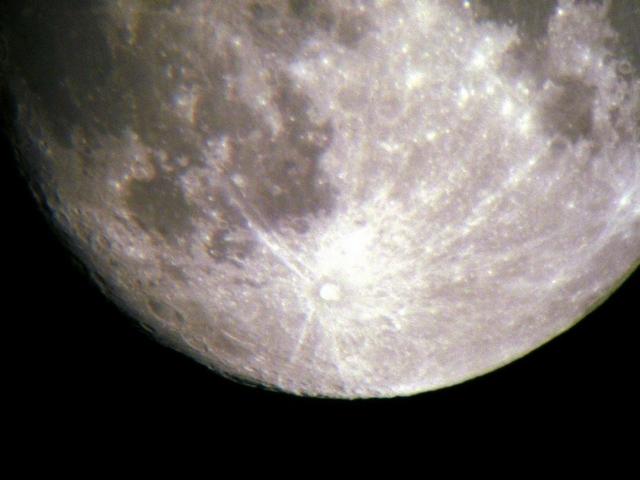 Moon Test - Mein erster Mond Bild 2