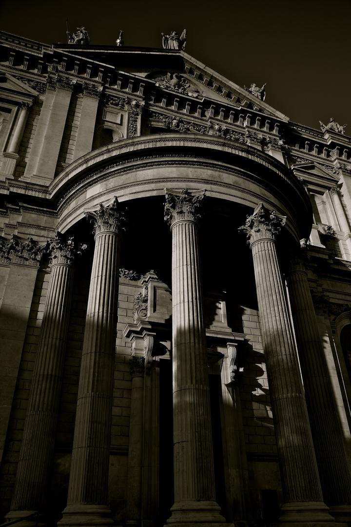 Moonlight on St Paul's.