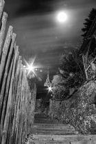 Moonlight on Steps