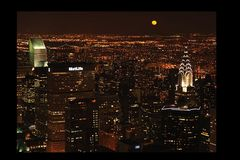 Moonlight over Manhatten
