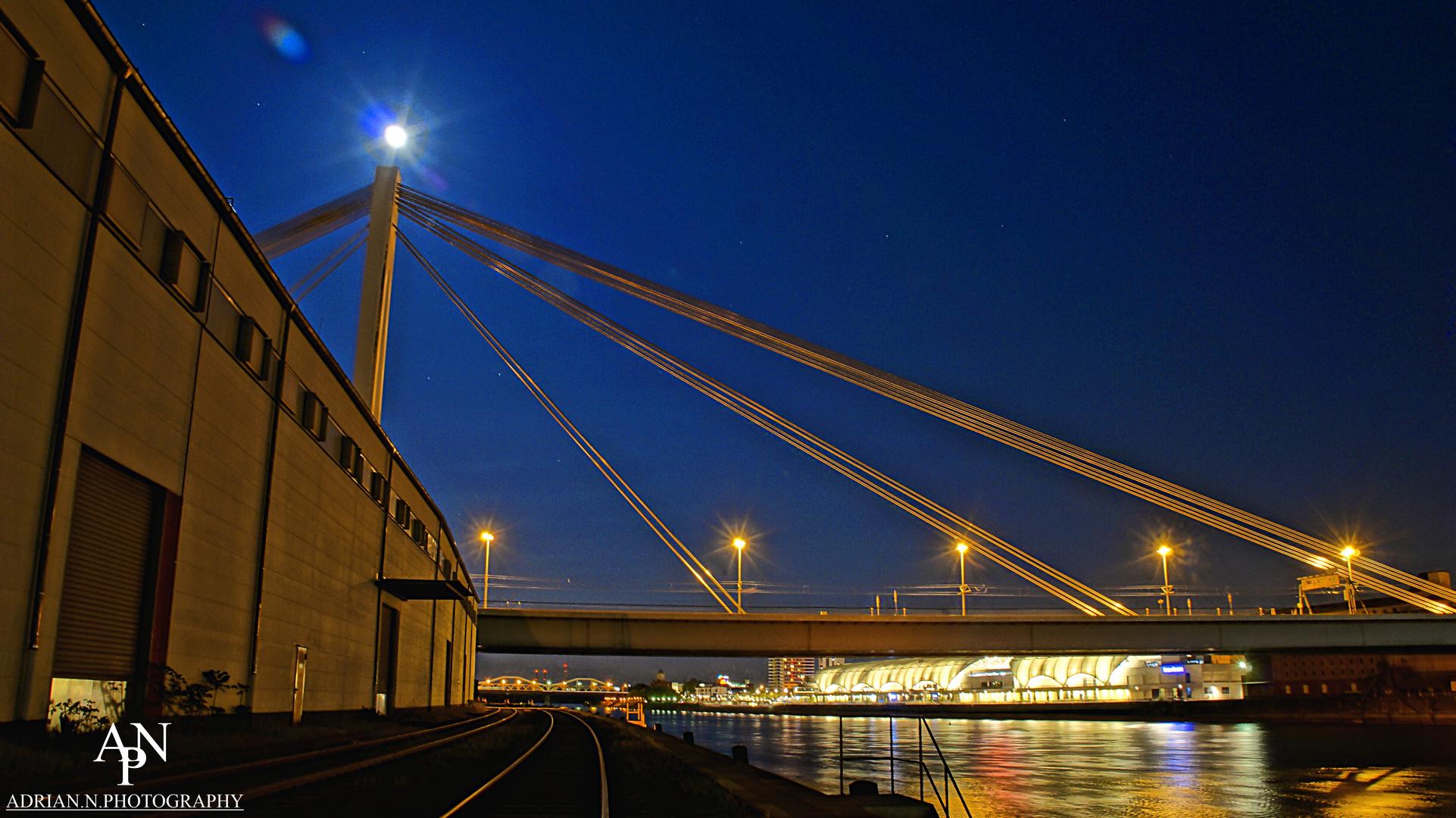 Moonlight over Mannheim