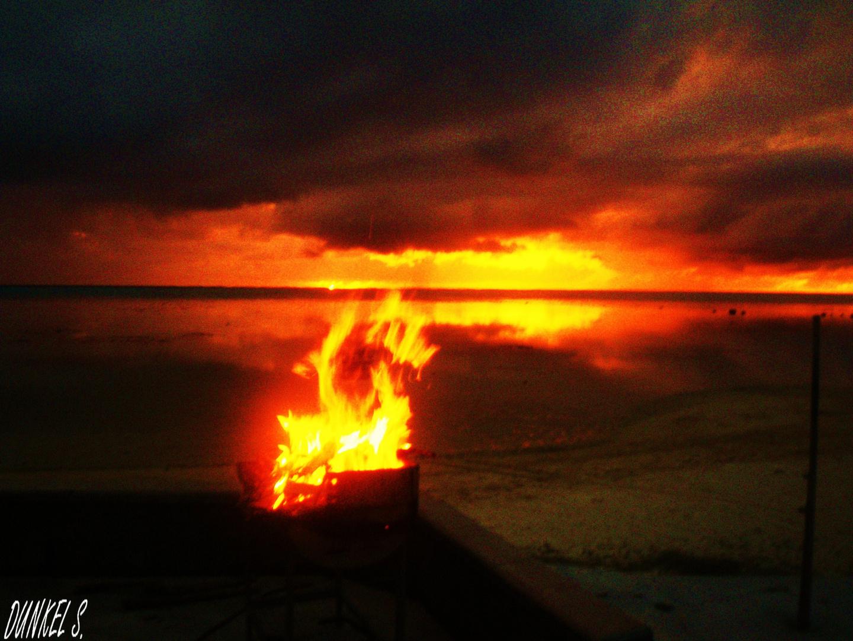Moorea en feu