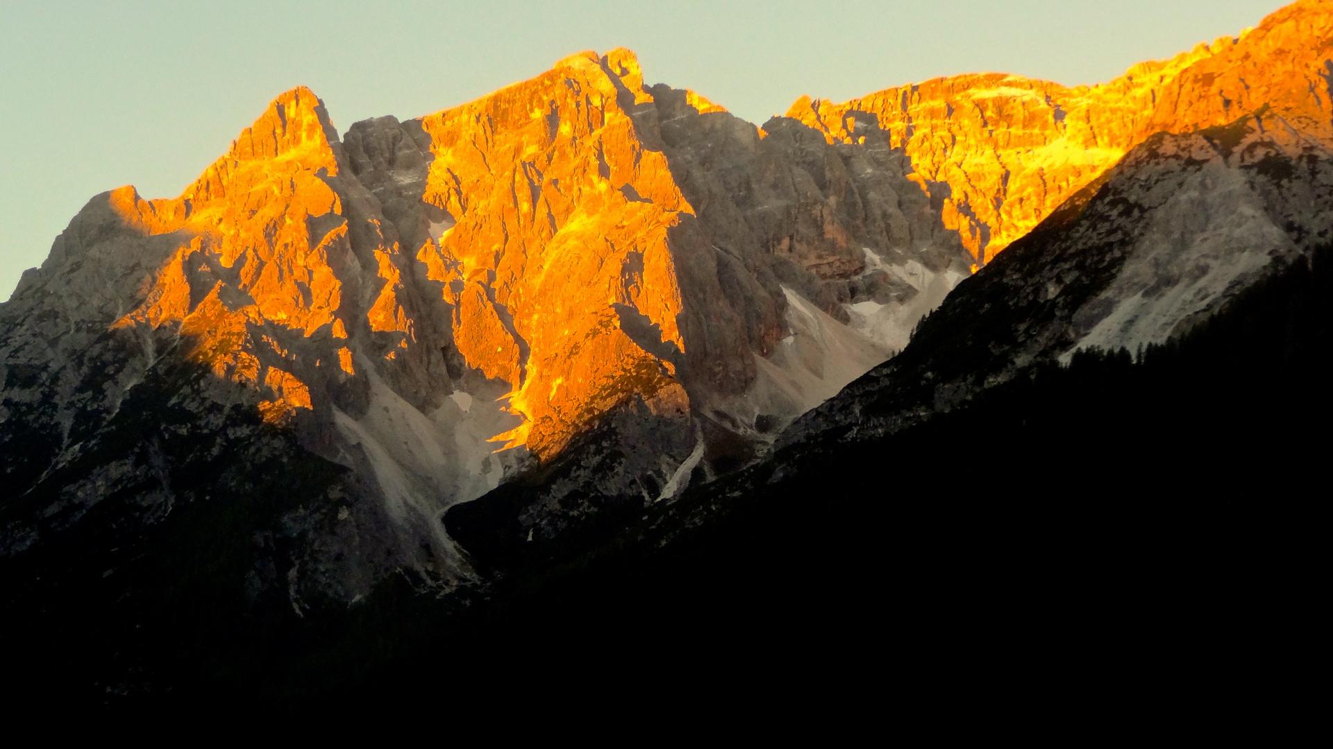 Moos bei Sexten Südtirol.