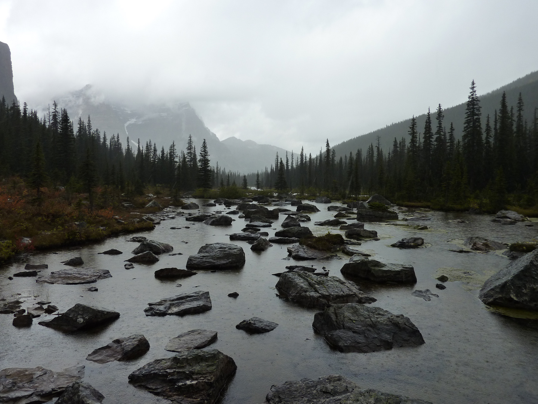 Moraine Lake - hike to Consolation Lakes, Canada