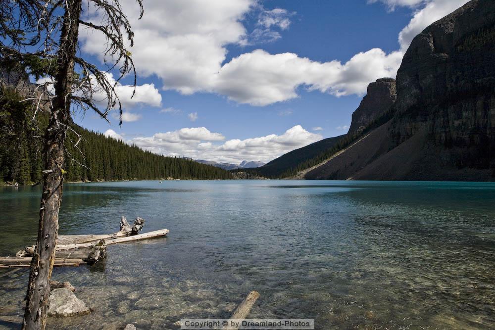 Moraine Lake im Banff National Park