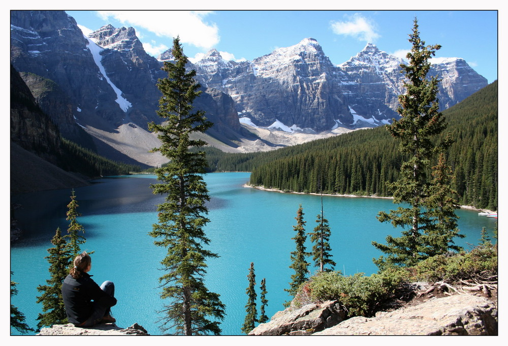 Moraine Lake & Valley of the 10 Peaks - BC