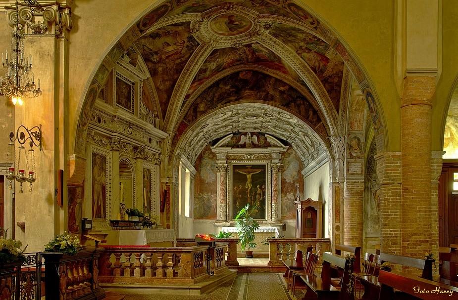 """Morcote,- die Pfarrkirche """"S.Maria del Sasso"""" ......"""