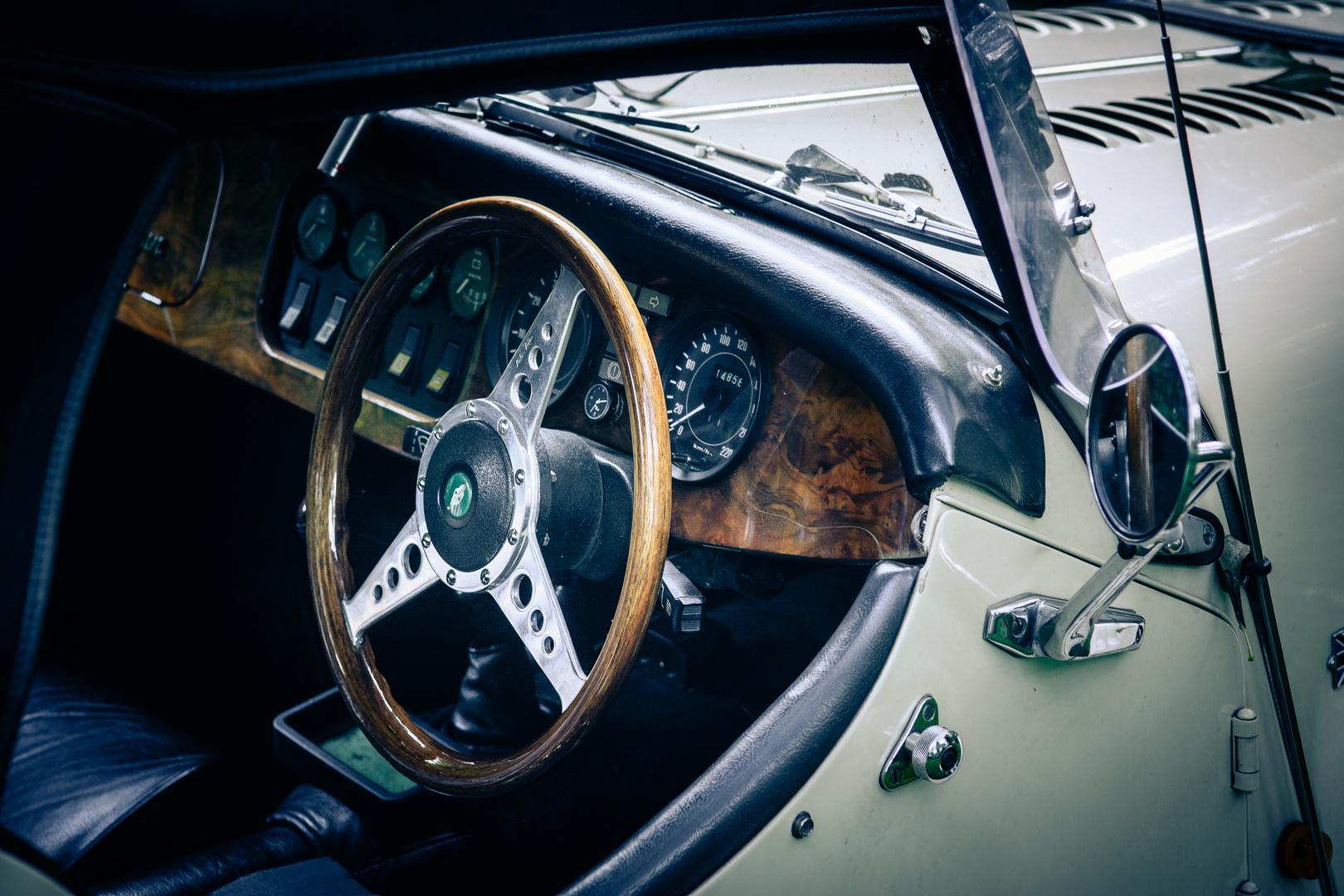 Morgan Roadster detail