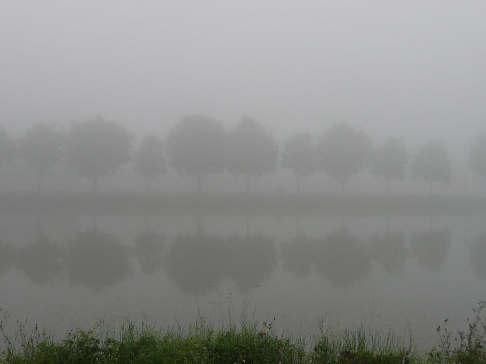 Morgen am Kanal