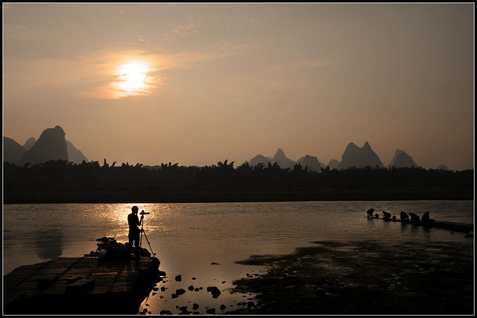 Morgen am Li-Fluss