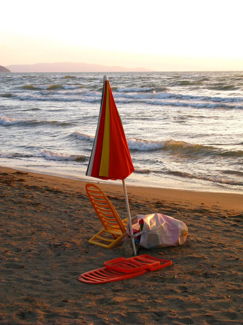 Morgen am Strand
