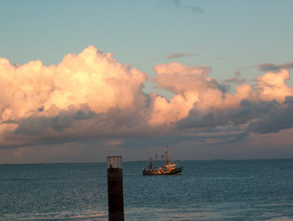 Morgen gibt es Fisch und schönes Wetter