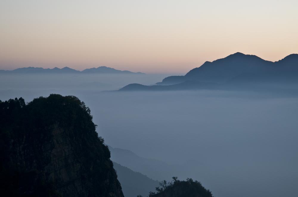 Morgen im Gebirge