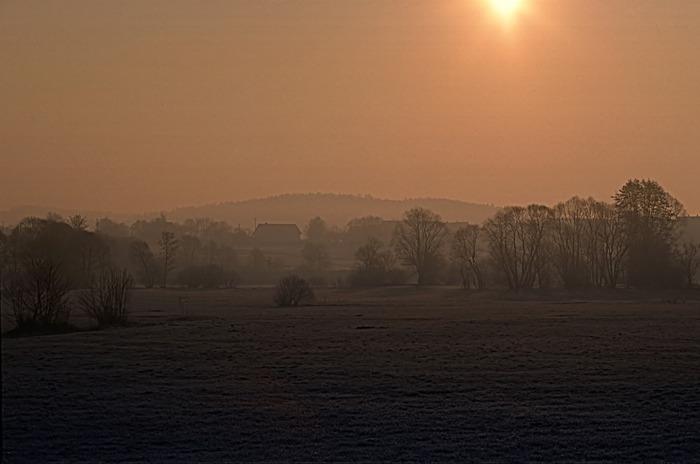Morgen im Nebel