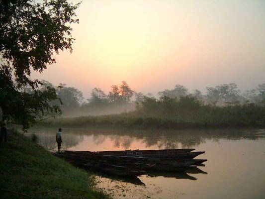 Morgen in Chitwan