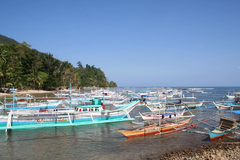 Morgen in Sabang (Palawan)