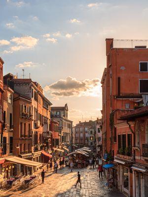 Morgen in Venedig