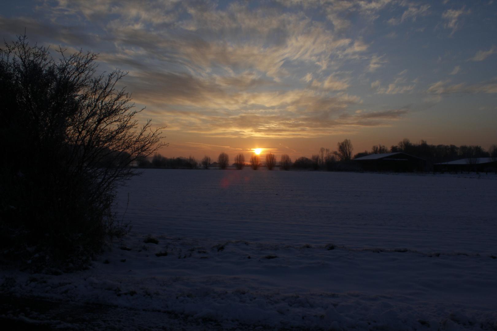 Morgen Sonne