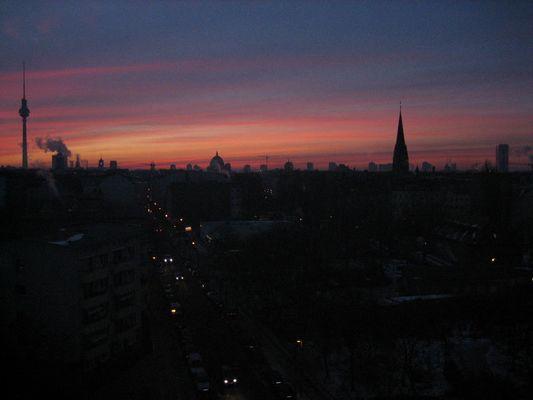 Morgendämmerung in Berlin
