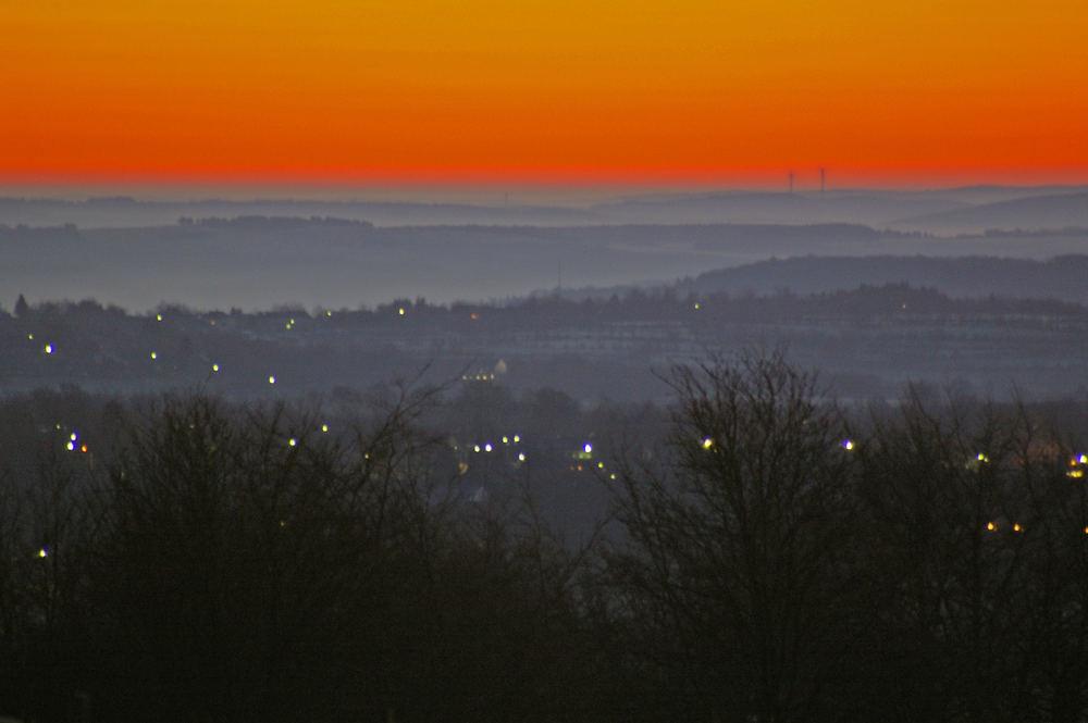 Morgendämmerung in der Eifel