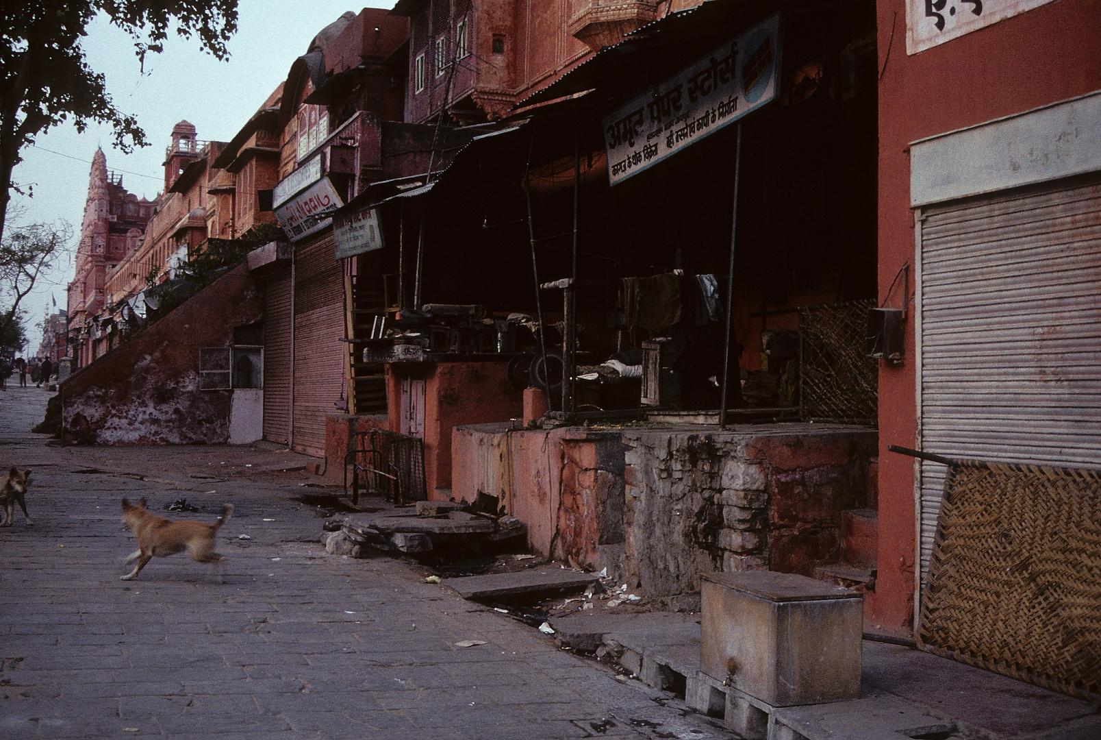 Morgendämmerung in Jaipur