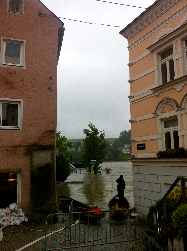 Morgendämmerung in Ottensheim an der Donau