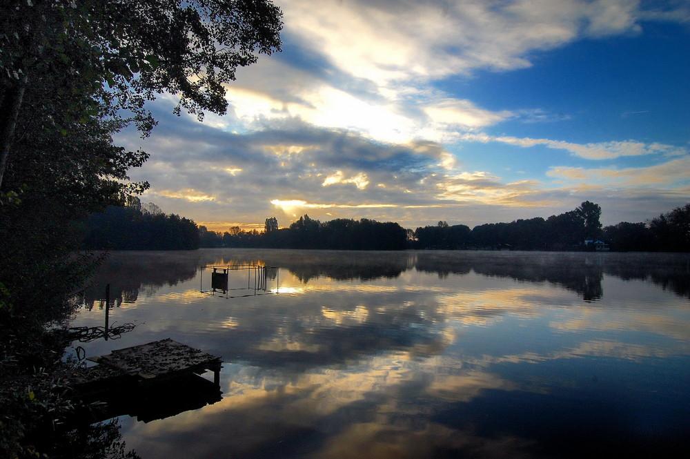 Morgendlicher See