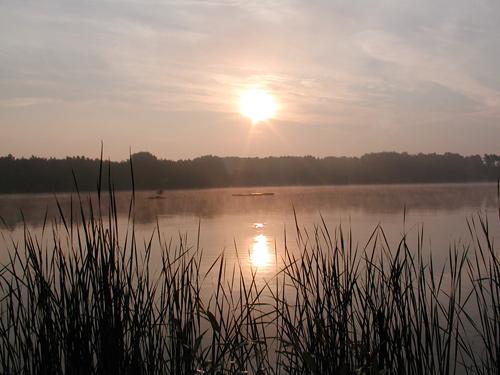 Morgendlicher Sonnenaufgang
