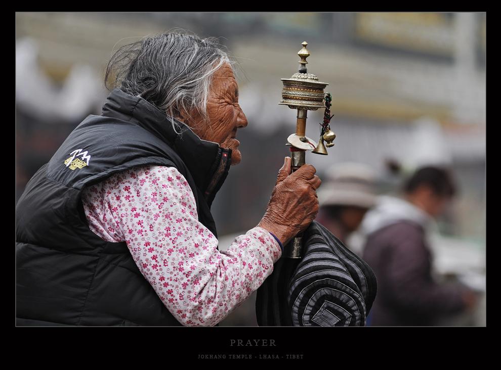 Morgends am Jokhang...