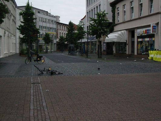 Morgends um 6 Uhr in Oldenburg